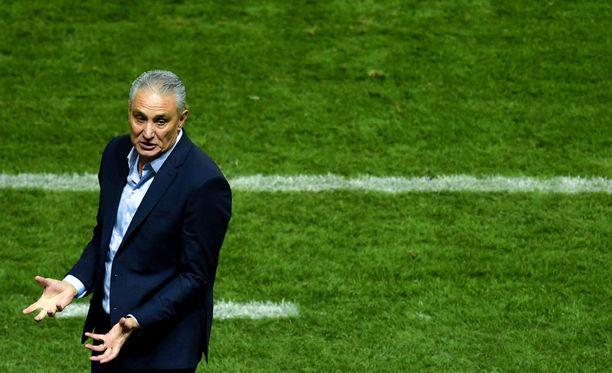 Brasilian päävalmentaja Tite palautti pelikurin.