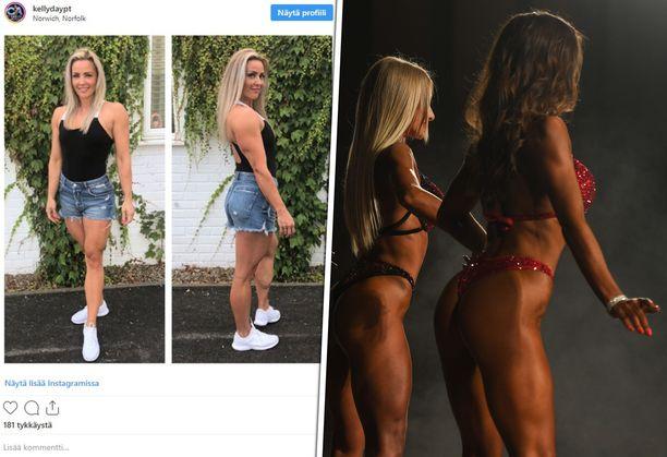 Kelly Day kyllästyi yksipuoliseen kuvaan fitnessurheilijoista.