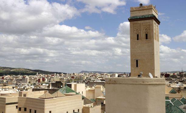 Fezin kaupungissa tehdyssä ratsiassa terroristien hallusta löytyi aseita. Kuvituskuva.