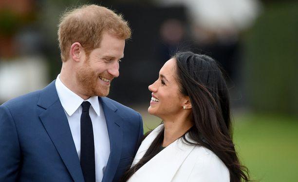 Prinssi Harry ja Meghan Markle sanovat tahdon.