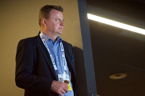 Jukka Toivakka toimii myös Suomen Jääkiekkoliiton varapuheenjohtajana.