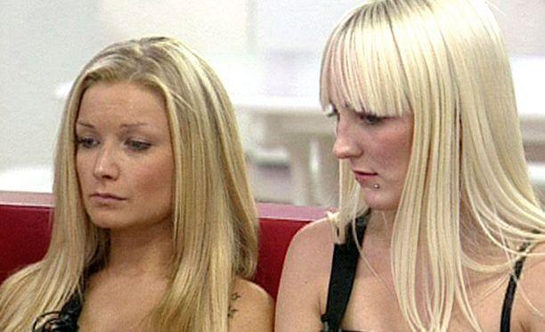 Johanna ja Katarina olivat häätöuhan alla. Kotiin joutui lähtemään Katarina.