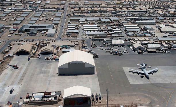 Camp Marmaliin on sijoitettu valtaosa Suomen joukoista Afganistanissa.