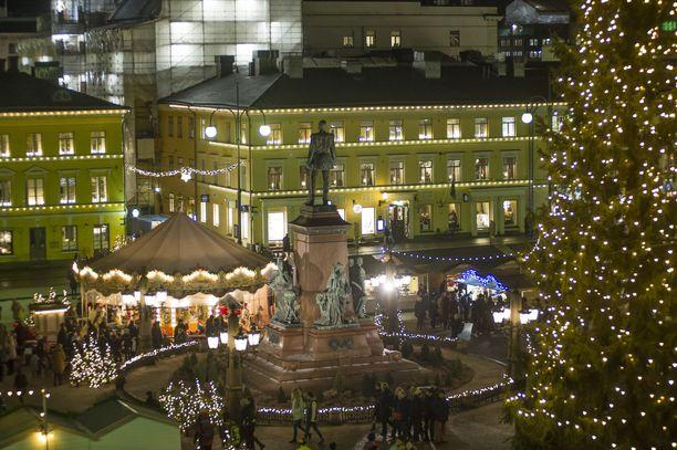 Helsingin suurin joulutori on Insta-kuvaajien suosiossa.