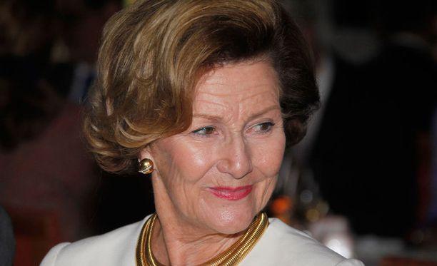 Flunssasta kärsi myös Norjan kuningatar Sonja, joka joutui jättämään väliin joulukirkon.