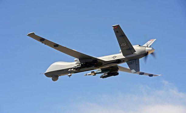 Tietovuodot koskevat Yhdysvaltain miehittämättömillä lennokeilla tehtyjä iskuja. Kuvassa USA:n MQ-9 Reaper -lennokki New Mexicossa.