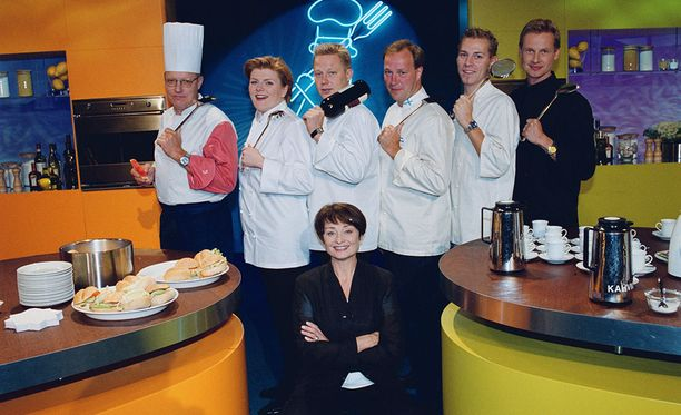 Kokkisota oli 1990-luvulla huippusuosittu ohjelma Suomessa.