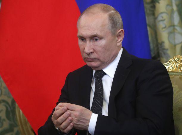 Presidentti Putin on allekirjoittanut lain.