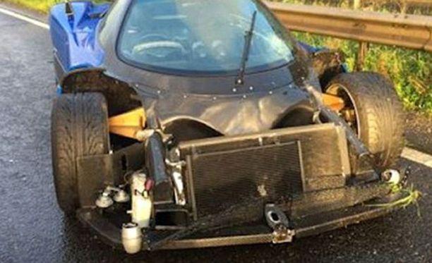 Kuljettaja ei loukkaantunut onnettomuudessa.