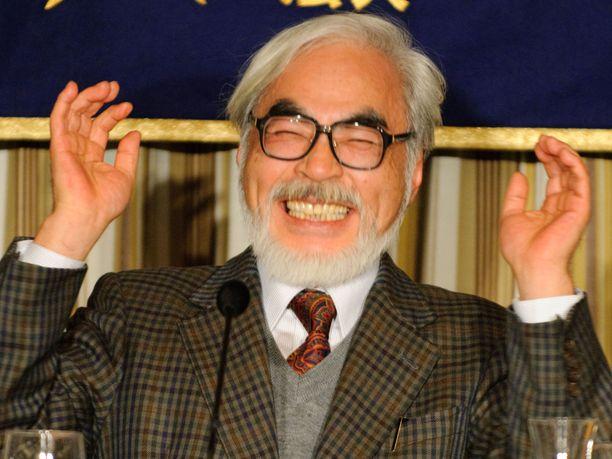 Hayao Miyazaki kuuluu animen legendoihin.