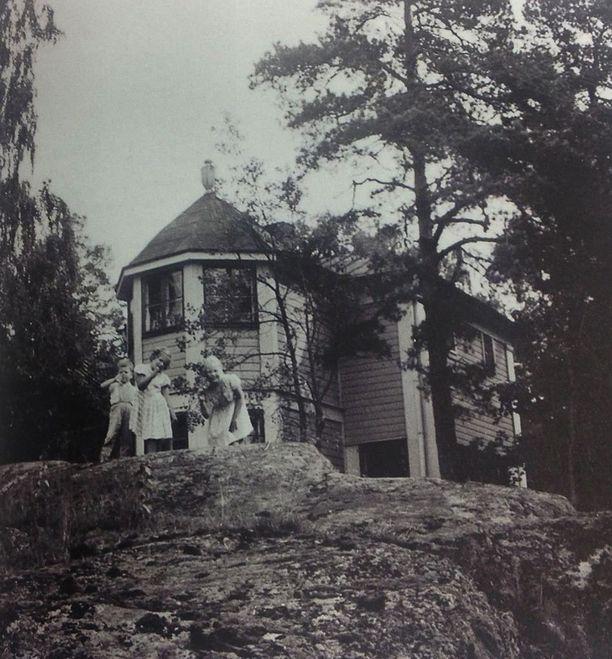 Villa Kissingen edustalla.