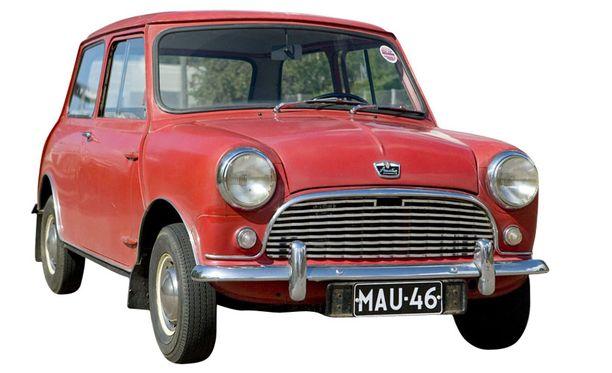 SIVIILI-MINI Siviili-Minin ulkoasu oli hellyttävän yksinkertainen.
