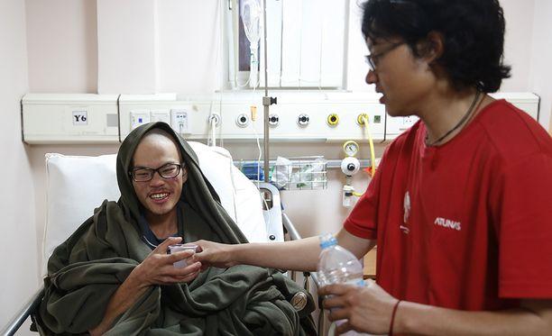 Liang Sheng Yueh oli laihtunut 30 kiloa, mutta hänen uskotaan toipuvan.