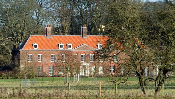 Cambridgen perhe viettää Anmer Hallissa usein myös jouluja.