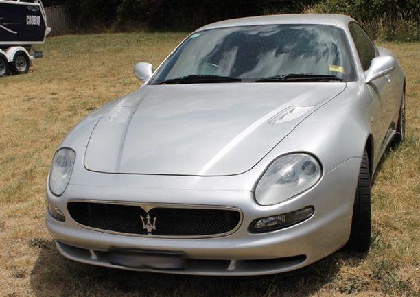 Kallein autoista oli Maserati.