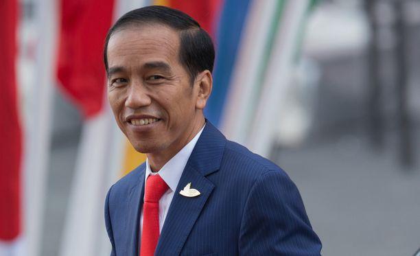 Indonesian presidentti Joko Widodo haluaa kovat keinot käyttöön huumerikollisuutta vastaan.