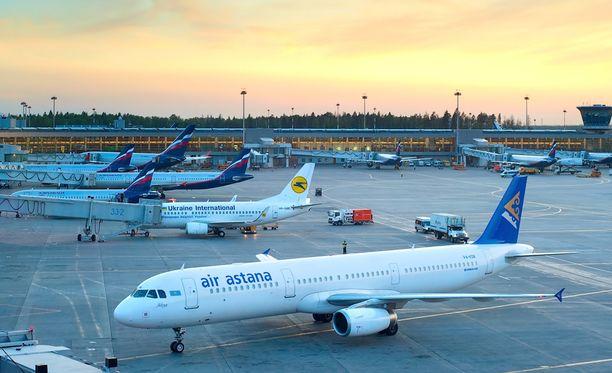 Syyrialaisperhe on ollut jumissa 50 päivää Sheremetyevon lentokentällä.