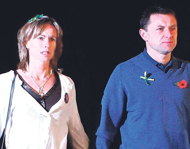 Kate ja Gerry McCann.