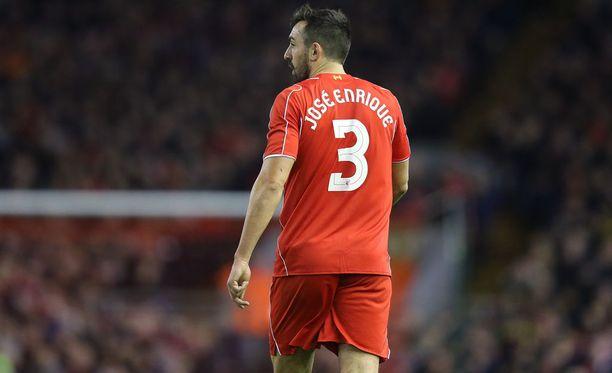 Laitapuolustaja Enrique ehti pelata lähes 100 ottelua Liverpoolissa.