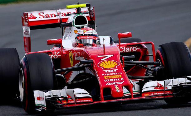 Kimi Räikkönen on perinteisesti ollut vireessä Bahrainissa.