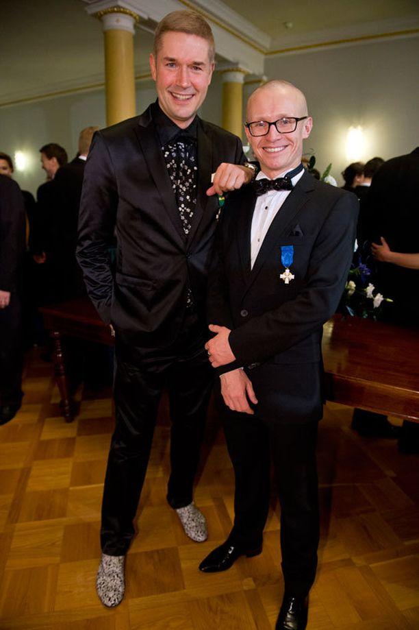 Marco BJurström ja Peter Pihlström