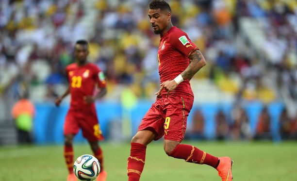 Ghanan tähtipelaaja Kevin-Prince Boatengin kisat päättyivät karulla tavalla.