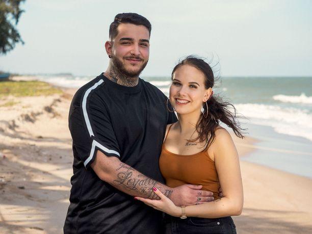 Temptation Islandilta tutut Karim ja Josefine ovat päätyneet eroon.