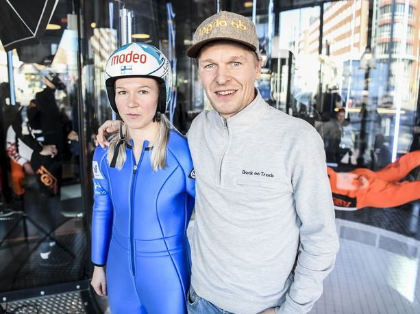 Julia Kykkänen ja Toni Nieminen muodostavat energisen duon.