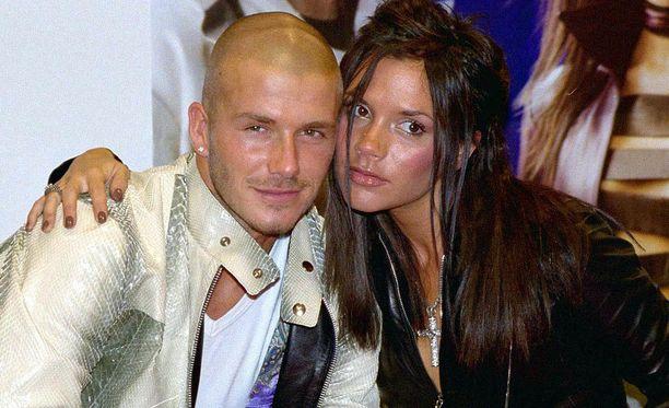 David Beckham ja Victoria Beckham avioituivat vuonna 1999.