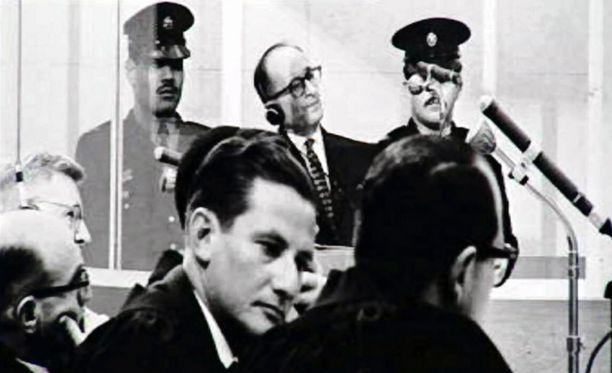 Adolf Eichmann saatiin oikeuden eteen vuonna 1961.