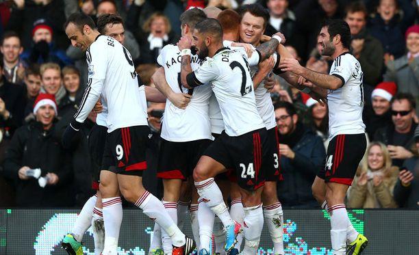 Fulhamin peliin on palannut ilo.