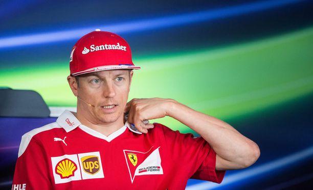 Kimi Räikkönen onnistui mukavasti kostean Red Bull Ringin aika-ajoissa.