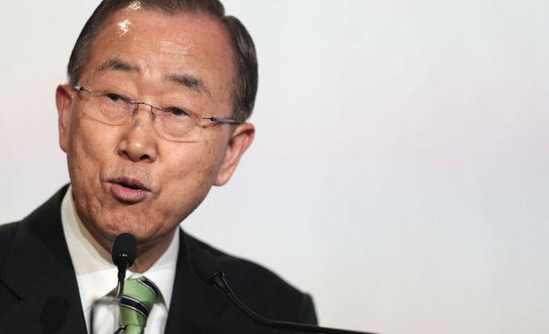 Ban Ki-moon on ensimmäistä kertaa pyytänyt haitilaisilta anteeksi koleraepidemiaa.