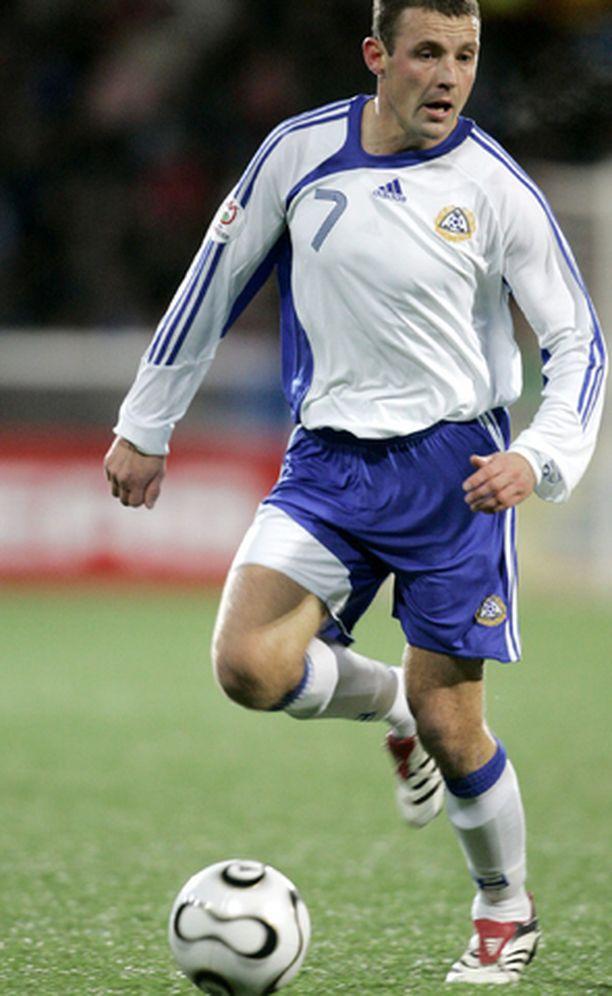 Mika Nurmela loisti maajoukkueessa.