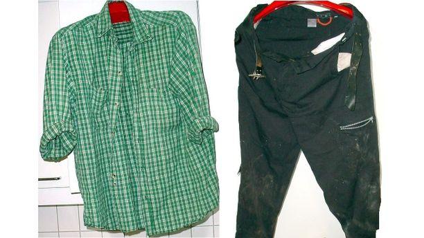 Pasi Aaltonen oli pukeutunut näihin vaatteisiin kuolinyönään.