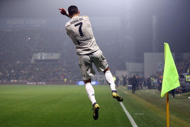 Cristiano Ronaldo teki 2-0-maalin.