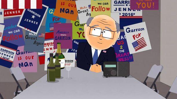 South Park tekee tänä vuonna pilkkaa Yhdysvaltain presidentinvaaleista.