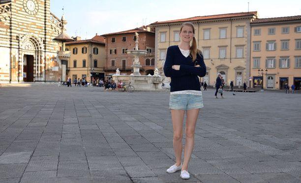 Bloggaaminen on tuonut Leena-Mari Laukkaselle monenlaisia työtilaisuuksia. Italian Toscana kuuluu hänen suosikkipaikkoihinsa.