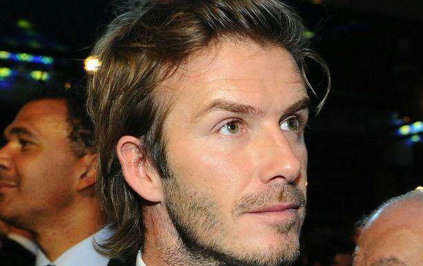 Beckhamia ei nähdä brittidivarissa.