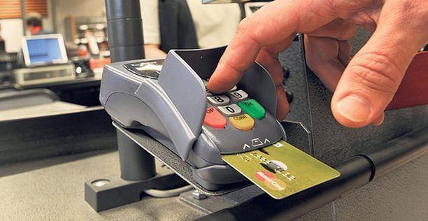 TAPAHTUMA Käsitellyt kortinlukijat ovat lähettäneet korttitiedot ja PIN-koodin suoraan Pakistaniin. (Kuvan laite ei ole ollut rikoksentekovälineenä).