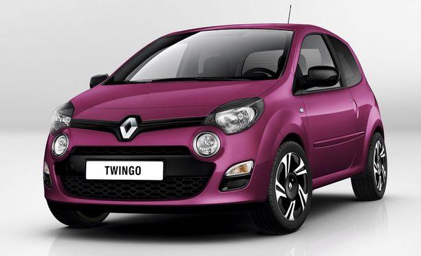 KONSEPTI-ILME Valmistajan mukaan Twingo 2012 on ensimmäinen Renault, jossa on merkin uusi konseptiautoista tuttu keulailme.