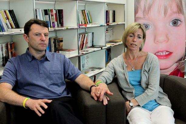 Gerry ja Kate McCann antoivat vuonna 2017 yhteishaastattelun, kun Maddien katoamisesta tuli kymmenen vuotta.