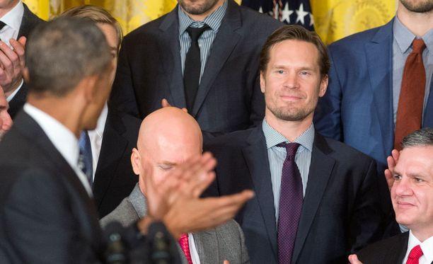 Barack Obama muisti Kimmo Timosta erillisillä aplodeilla.