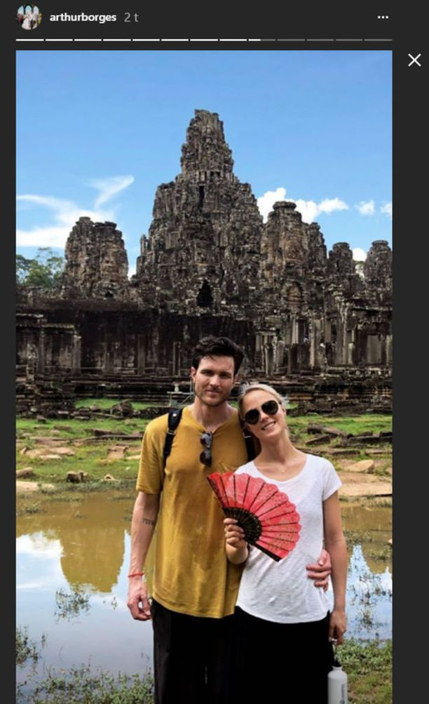 Rakastunut pari lähti häämatkalle Kambodzaan.