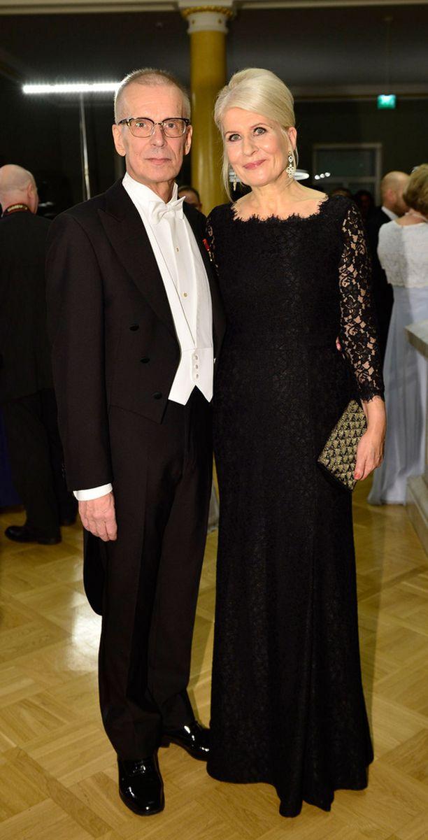 Jukka Puotilan rankassa syksyssä tukena on ollut Anneli-vaimo.