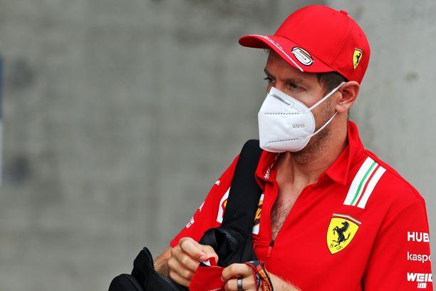 Sebastian Vettel lähtee Ferrarilta kauden jälkeen.