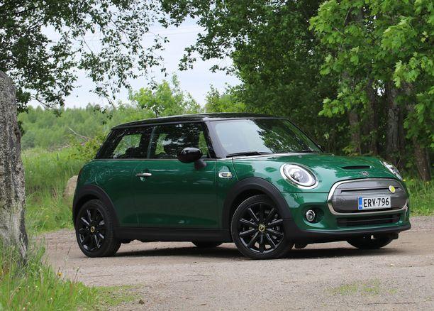 Alkuperäisen kaltainen vihreä  väri istuu Miniin loistavasti.