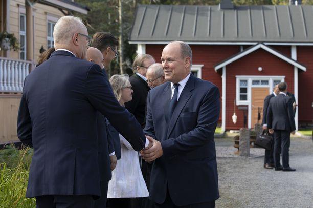 Albert on vieraillut Pohjois-Suomessa ennenkin.