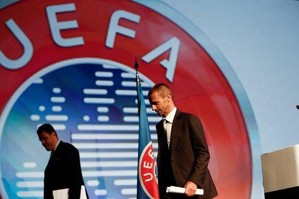 Aleksander Ceferin on Uefa-historian seitsemäs puheenjohtaja.
