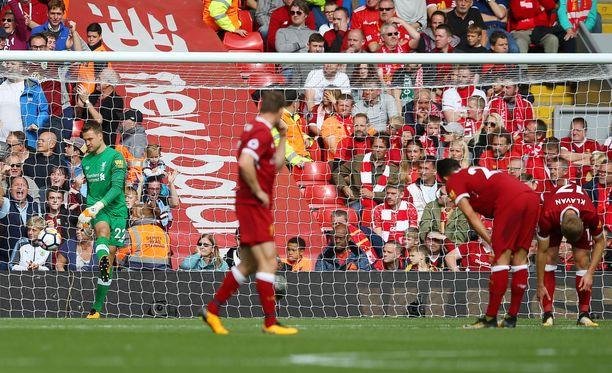 Liverpoolin kausi on alkanut yskähdellen.